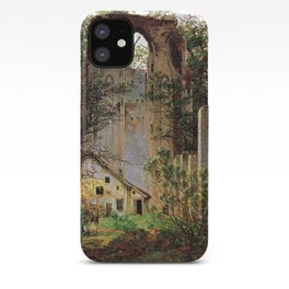 Caspar David Friedrich Monastery Ruins Eldena iPhone Case