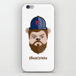 (Bear)rieta iPhone Skin