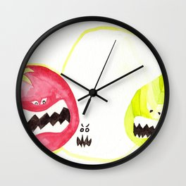 Attack of the Killer Caprese Wall Clock