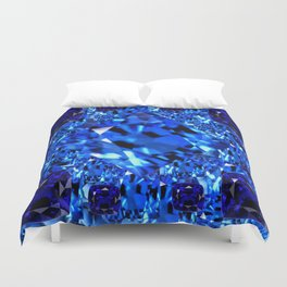 AWESOME SEPTEMBER BLUE  SAPPHIRES GEM BIRTHSTONE ART Duvet Cover