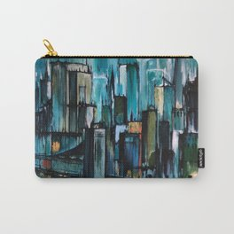 After the Rain - Cityscape Carry-All Pouch