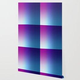 Fuchsia Blue Ombre Wallpaper