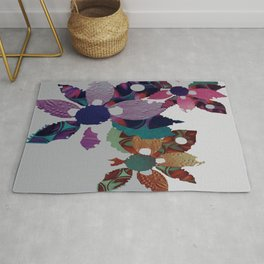 The Garland- Paper Flowers Rug