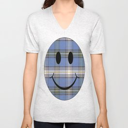 Happy to be Scottish Unisex V-Neck