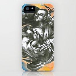 Japanese Samurai Ninja Warrior (9) iPhone Case