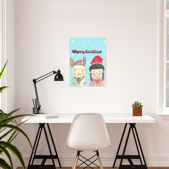 Christmas Friendship Poster