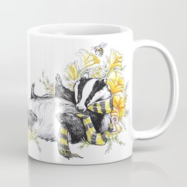 Happy Badger Coffee Mug