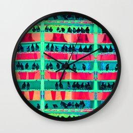 AWARE HOMOLOGATION - GLITCH VERSION - TANUKI Wall Clock