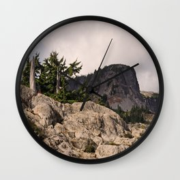 DARK SIDE OF TABLE MOUNTAIN Wall Clock