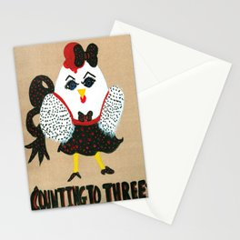 Counting To Three Stationery Cards
