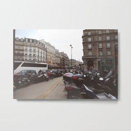 Motorbikes Metal Print