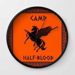 Camp Half-Blood Wall Clock