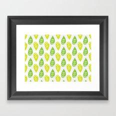 Turn Over A New Leaf Framed Art Print