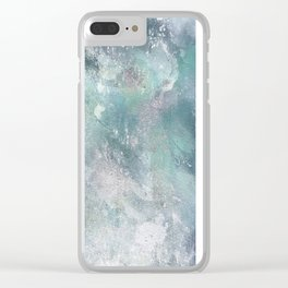 Mermaid B Clear iPhone Case