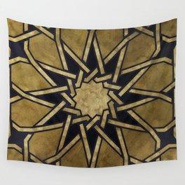 Islamic Pattern - Islamic Ornament - Arabian Pattern Wall Tapestry