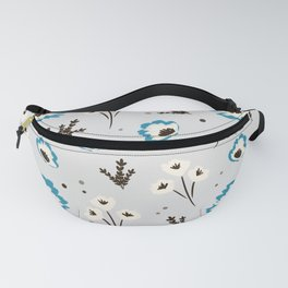 Blue Spring Fanny Pack