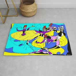Dervishes    by Kay Lipton Rug