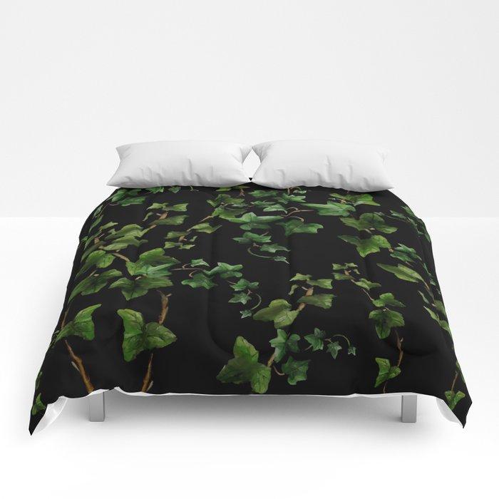 Ivy night Comforters
