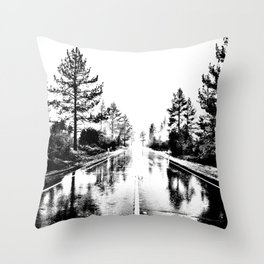 Here As Always Throw Pillow