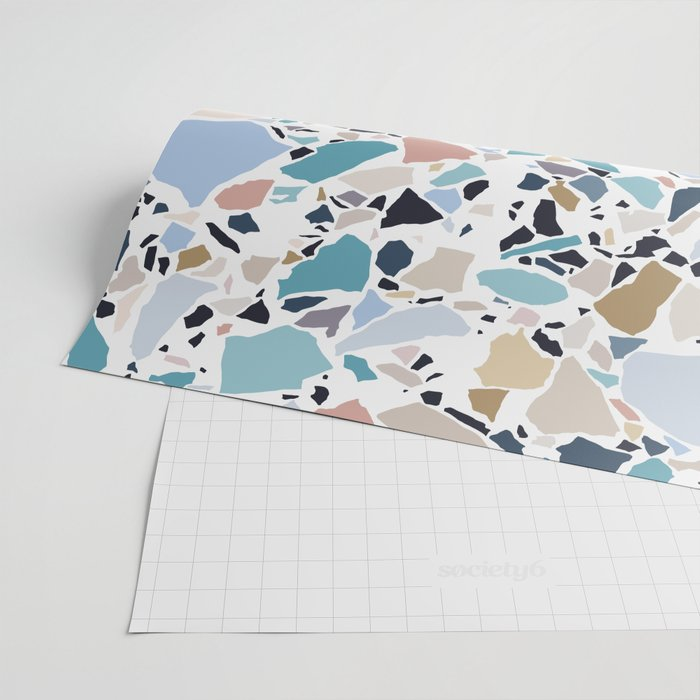 Pastel Terrazzo Wrapping Paper