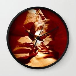 The Heated Debate Wall Clock