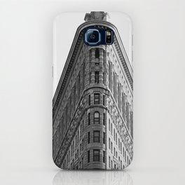 Flatiron Black and White NYC iPhone Case