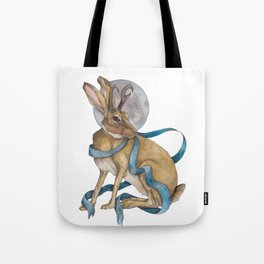 Tie Me To The Moon Tote Bag