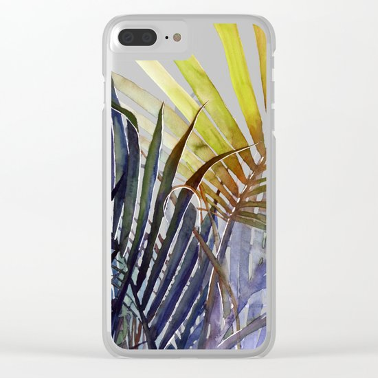 Arecaceae - household jungle #3 Clear iPhone Case