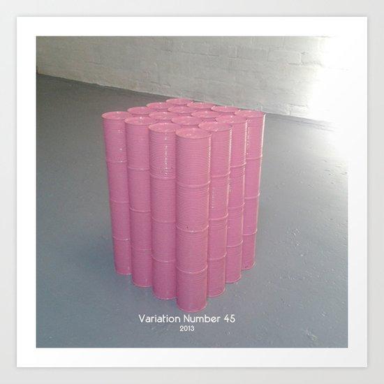 Variation Number 45 (photo) Art Print