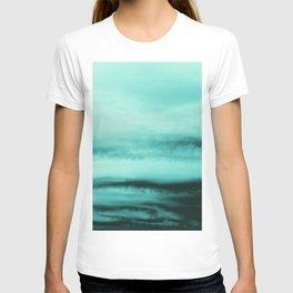 Mint-Green Ocean Vibes #1 #decor #art #society6 T-shirt