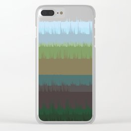 Vocalscape II Clear iPhone Case