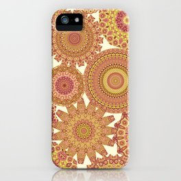 Millefiori Karma-Canyon colorway iPhone Case
