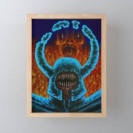 Soldier  Framed Mini Art Print