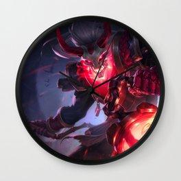 Blood Moon Thresh League Of Legends Wall Clock