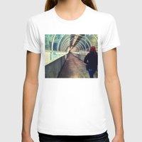 onward T-shirts featuring Onward Into The Tunnel Forbidden  by AJ Calhoun