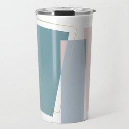 Geometric Minimalism Rectangle Travel Mug