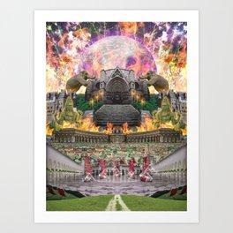 「Valley」 Art Print