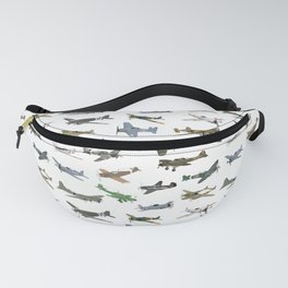 Various WW2 Planes Fanny Pack