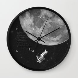 Set your location Wall Clock