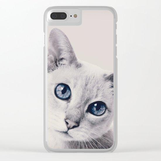 CAT 3 Clear iPhone Case