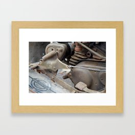 Rusty Harley Framed Art Print