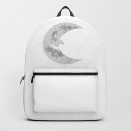 Scary halloween moon Backpack