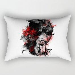 Fractal Mind Rectangular Pillow