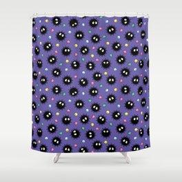 Soot Sprites (Purple) Shower Curtain