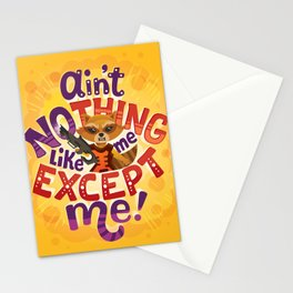 No thing like me except me Stationery Cards