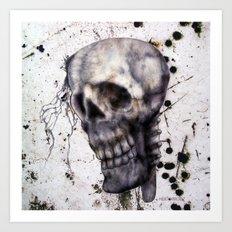 Independent Head Art Print