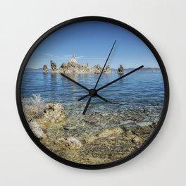 Mono Lake Tufa, No. 2 Wall Clock
