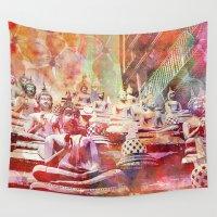 buddha Wall Tapestries featuring Buddha   by LebensART