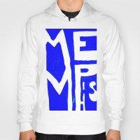memphis Hoodies featuring MEMPHIS by John Weeden