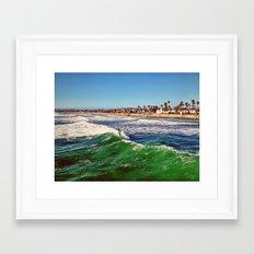 Surf Air Framed Art Print